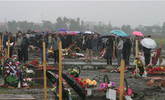 Сегодня во Владикавказе пройдут первые похороны погибших