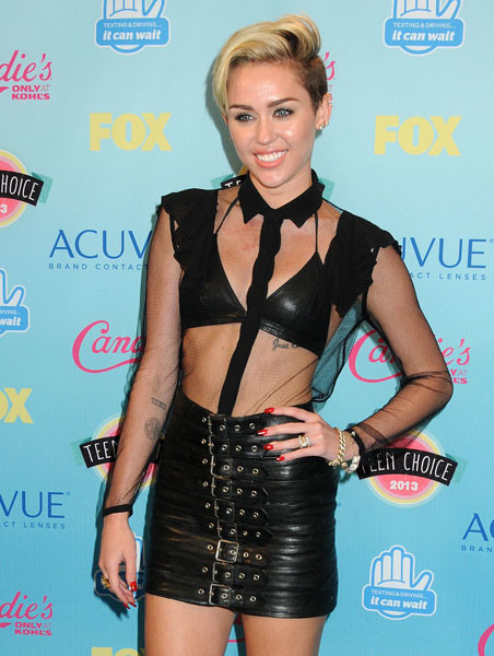 Майли Сайрус на Teen Choice Awards-2013