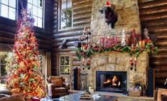 Домик в деревне: милейшие идеи для новогоднего декора