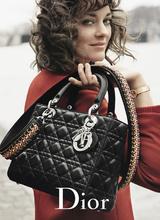 Марион Котийяр в новой рекламной кампании Lady Dior