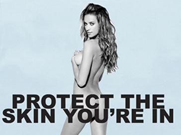 Ирина Шейк (Irina Shayk) в камании «Protect The Skin You'Re In»