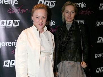 Анасатсия Вертинская и Оксана Бондаренко