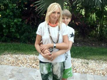 Кристина Орбакайте с сыном Денни