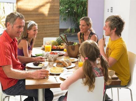 Воскресный ужин с детьми
