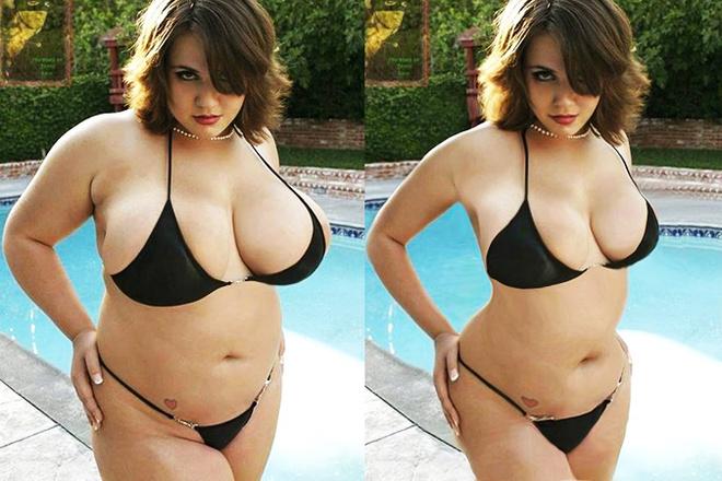 звезд Plus Size заставляют похудеть с помощью «фотошопа»