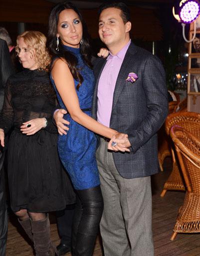 Алсу и ее муж Ян Абрамов