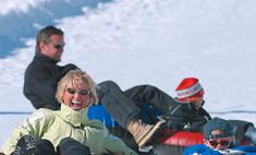 Сноутюбинг: семейный спорт в каникулы