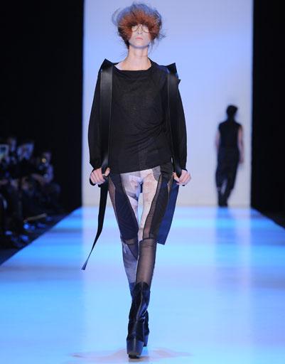 Показ коллекции PIROSMANI BY JENYA MALYGINA осень-зима 2013/14 на Mercedes-Benz Fashion Week Russia