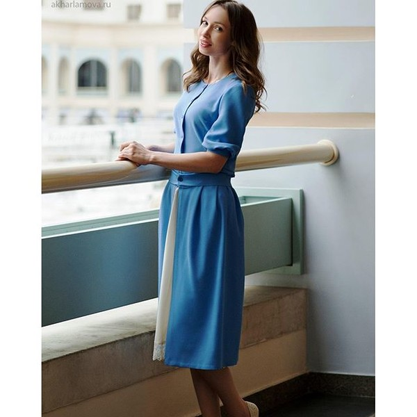 Женственный и элегантный стиль никогда не потеряет своей актуальности  #fashion #look #moscow #moscowpoloclub #poloChic #konkurs_elle_polo