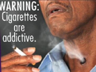 Предупреждение: Сигареты приводят к зависимости.