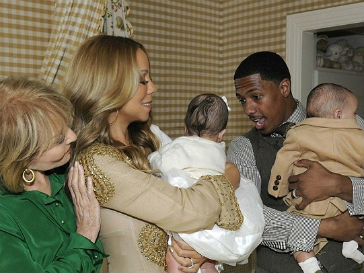 Мэрайя Кери (Mariah Carey) представила своих детей публике