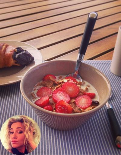 Завтрак Юлии Ковальчук