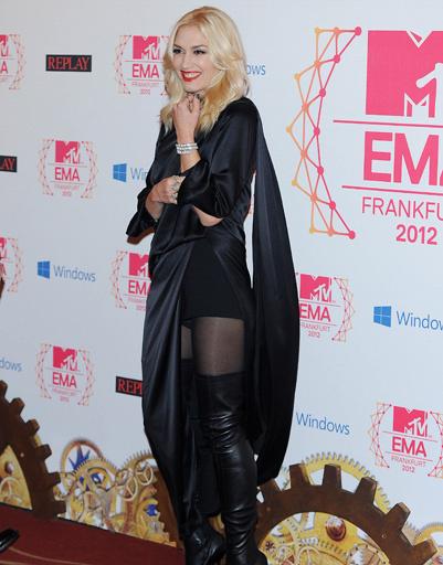 Гвен Стефани (Gwen Stefani) на MTV EMA 2012