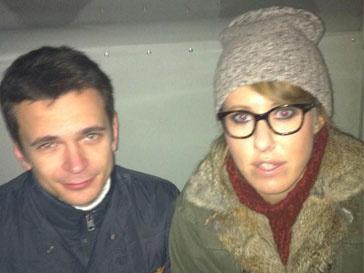 Илья Яшин и Ксения Собчак были арестованы за подстрекательство