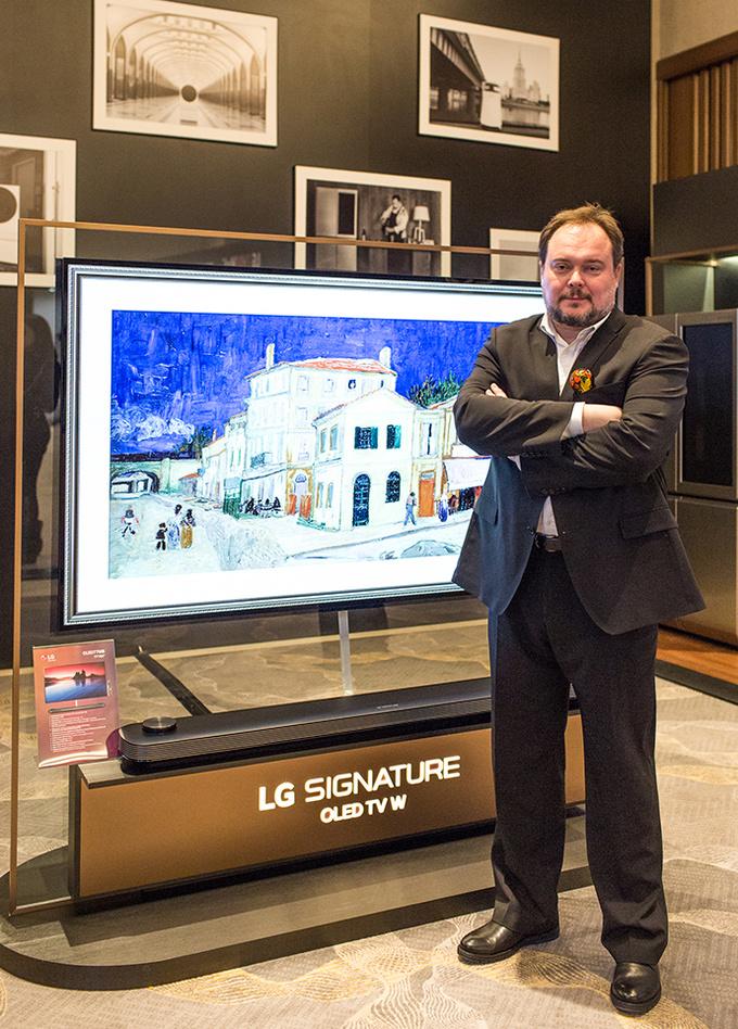Новинки премиальной бытовой техники от LG