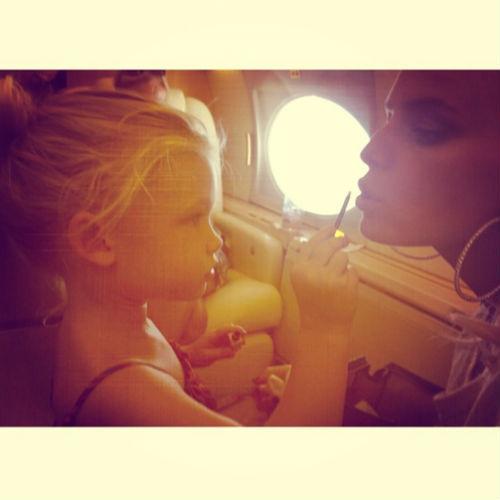 Джессика Симпсон и ее дочь Максвелл