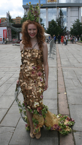 Праздник цветов, День города
