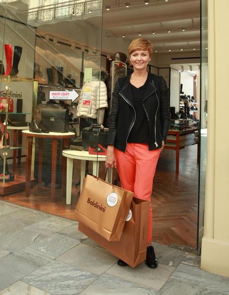 Marie Claire провел осенний фестиваль Shoes First в ГУМе | галерея [1] фото [8]