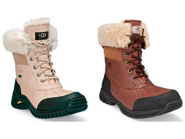 Обувь из коллекции Snow boot collection защитят ноги от холода и снега
