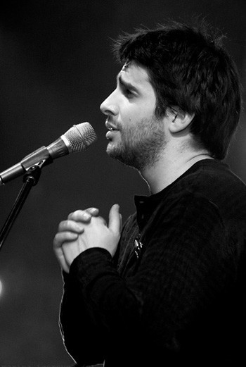 Петр Налич во время одного из своих выступлений.