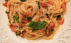 Рецепты капеллини с мясом и с морепродуктами