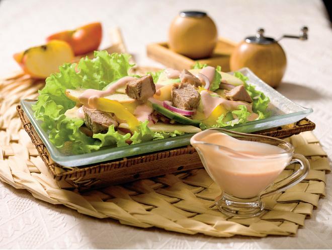 салат из буженины рецепт