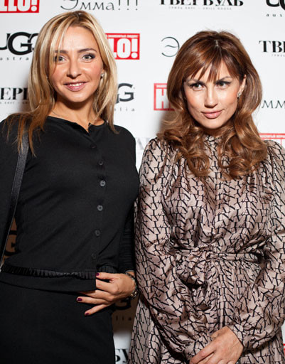 Татьяна Навка и Эмма Салимова