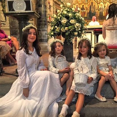 Свадьба Кристианы Кавалли