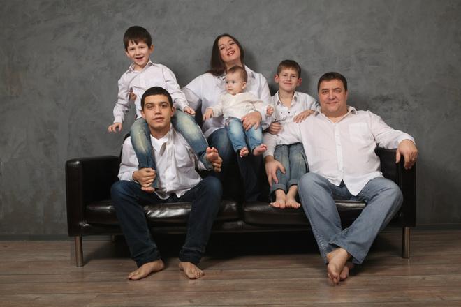 Многодетные семьи: секреты воспитания детей