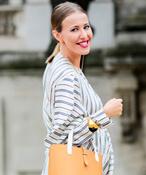 Самые стильные образы Ксении Собчак во время беременности