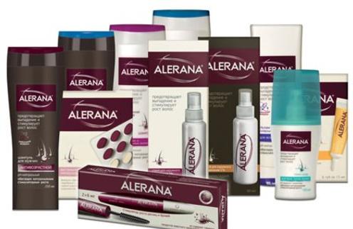 В линейке средств ALERANA можно найти шампуни, бальзам-ополаскиватель, средство для роста ресниц и бровей и многое другое