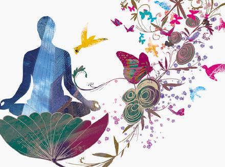 Медитация в цветах