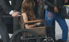 Louis Vuitton сделал инвалидное кресло для Леди ГаГа