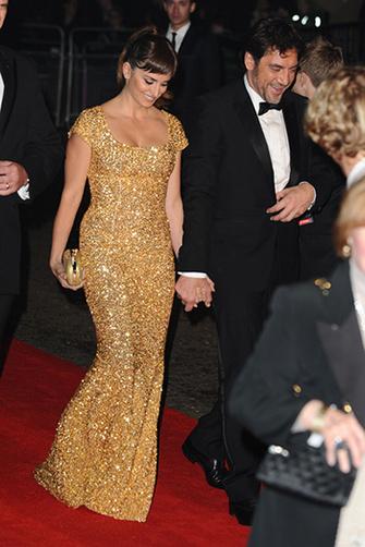 Пенелопа Крус (Penelope Cruz) и Хавьер Бардем (Javier Bardem) на премьере «007: Координаты «Скайфолл»», Лондон, 23/10/2012