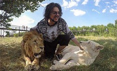 Герой дня: Киркоров спас львенка от гибели