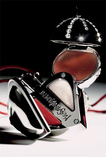 Сверху вниз: коллекционные кулоны с блесками для губ DiorLight, 533, Dior, и Love Collection, Yves Saint Laurent