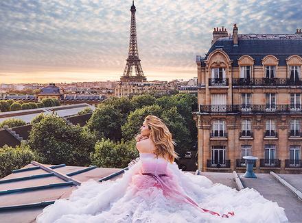 Влюбиться в себя: рекламная кампания Oh My Look! в Париже