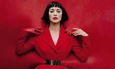 Латекс и провокация: Марион Котийяр в модной фотосессии