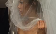 Виктория Боня примерила свадебное платье