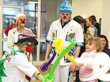 Фонд Чулпан Хаматовой и Дины Корзун «Подари Жизнь» организовал праздник для детей