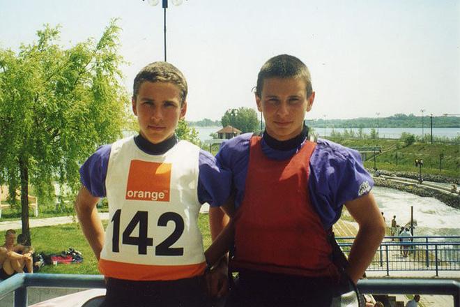 Дмитрий Ларионов и Михаил Кузнецов, гребной слалом, фото
