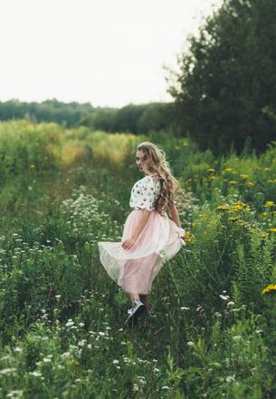 Длинноволосые девушки Тулы, фото, Алена Кузьмичева