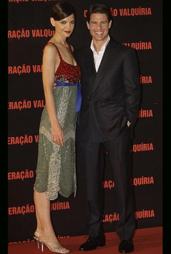 Том Круз и Кэти Холмс на премьере в Бразилии