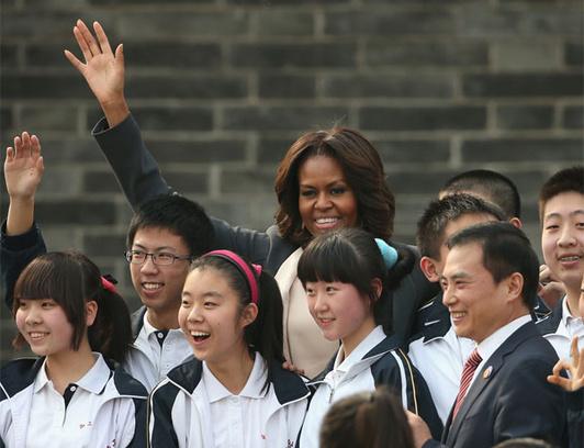 Мишель Обама побывала в КНР