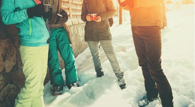 Наступление лыжных штанов