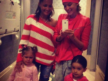 Ксения Бородина с подругой и детьми отдыхают в Турции