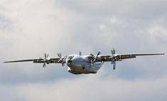 Под Тулой упал транспортный самолет Ан-22
