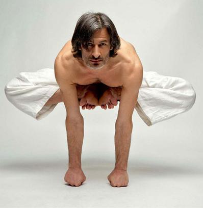 Одно из упражнений для поддержания тонуса мышц