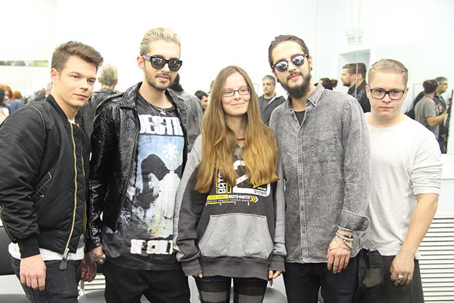 Tokio Hotel в России 2015