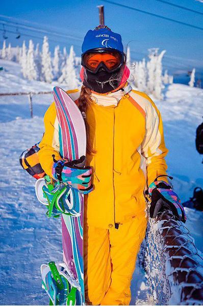 Секси сноубордитски